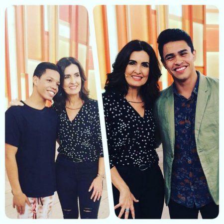 Projeto Dançar a Vida no Encontro com Fátima Bernardes